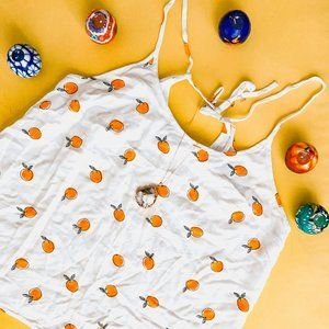 Tops - A New Day Eawy• NWOT•Oranges Print Tank